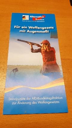 AfD Flyer