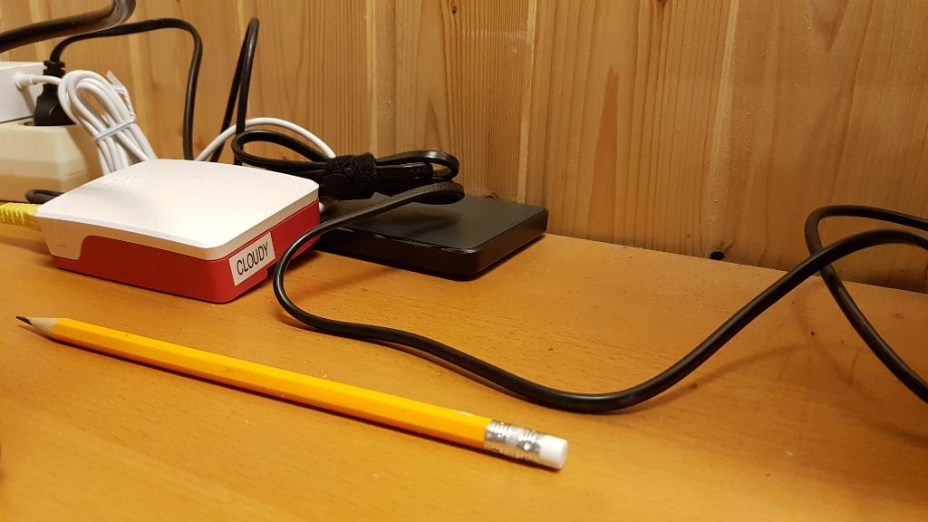 Raspberry Pi mit externer HD